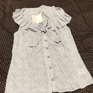 New grey blouse